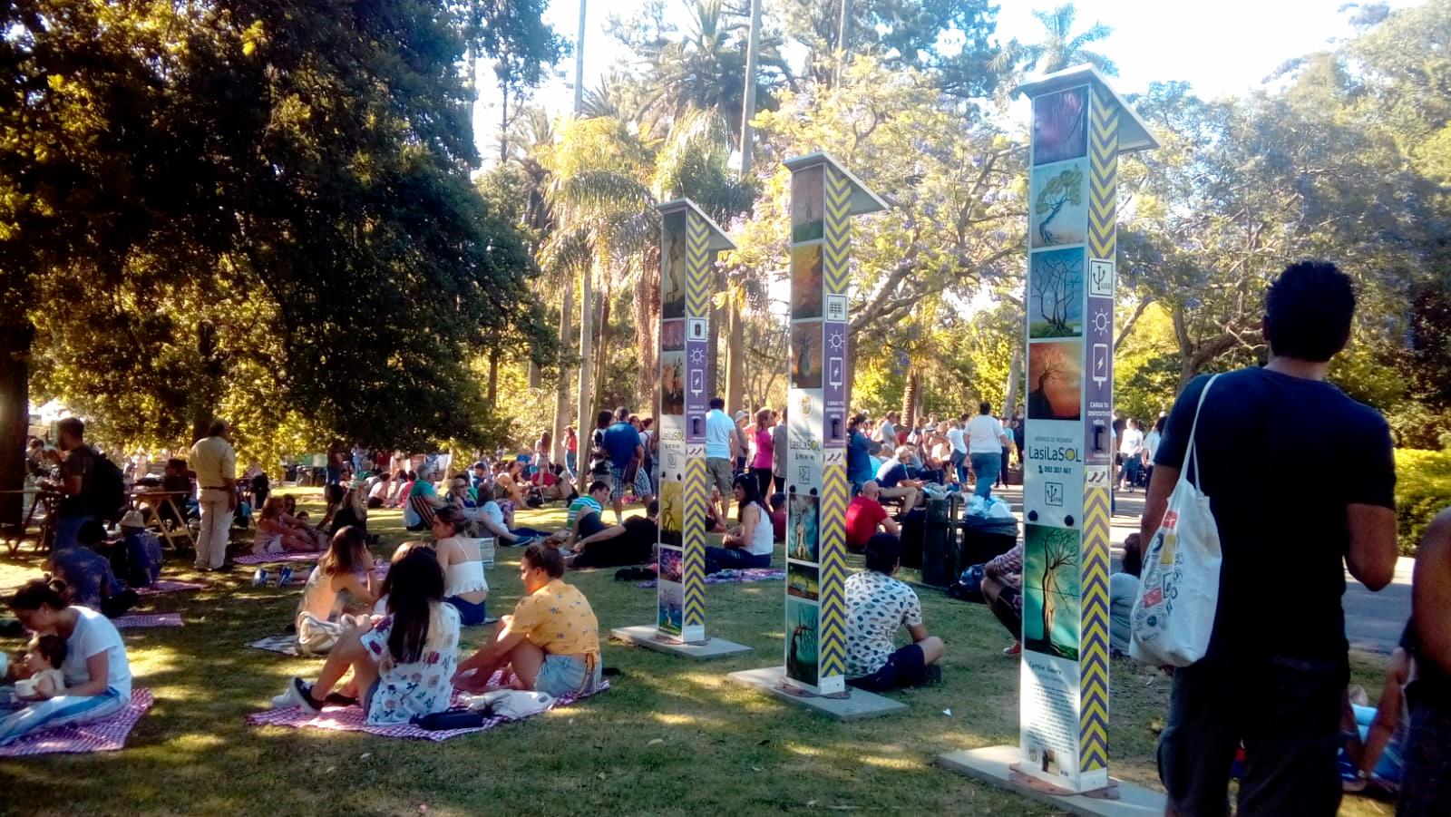 Totem solar - Montevideo